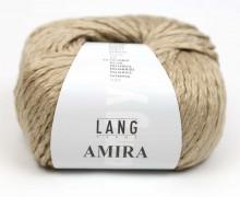Strickgarn - LANGYARNS AMIRA - 100m - 93% Baumwolle - Ganzjahresgarn - Sand (933.0196)