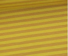 Jersey - Streifen - Maisgelb/Ockergelb