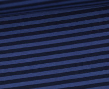 Jersey - Streifen - Blau/Dunkelblau