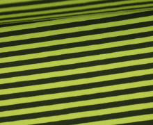 Jersey - Streifen - Gelbgrün/Dunkelgrün