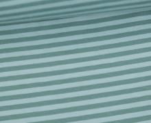 Jersey - Streifen - Lichtgrün/Altgrün