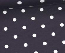 Jersey - Punkte - Groß - Grau/Weiß