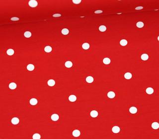Jersey - Punkte - Groß - Rot/Weiß