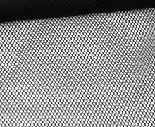 Fester Netzstoff - Uni - Durchsichtig - Schwarz