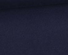 Baumwoll-Lochstrick - Raute - Nachtblau