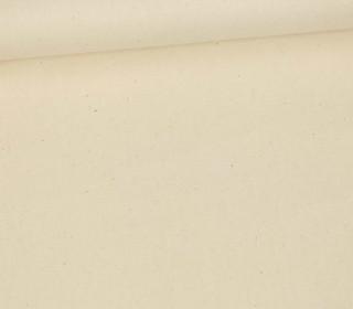 Baumwollstoff - Uni - 150cm - Vanille