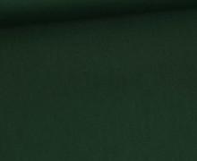 Baumwollstoff - Uni - 150cm - Dunkelgrün