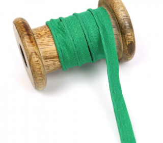 1 Meter Paspelband - Baumwolle - Uni - Grün
