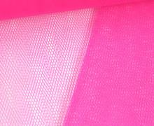 Fester Tüllstoff - 140cm - Uni - Neonpink