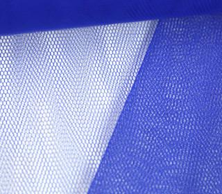 Fester Tüllstoff - 140cm - Uni - Blau