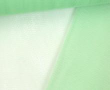 Fester Tüllstoff - 140cm - Uni - Hellgrün