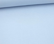 WOW Angebot - Glattes Bündchen - Uni - Schlauchware - Pastellblau