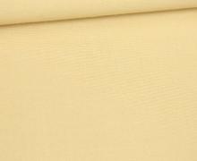 Stoff - Cretonne - Baumwolle -  Webware -Uni - 145cm - Creme