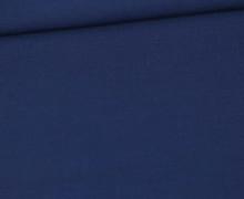 Stoff - Cretonne - Baumwolle - Uni - 145cm - Dunkelblau