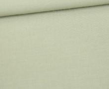 Stoff - Cretonne - Baumwolle - Uni - 145cm - Lichtgrün