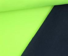 Softshell - Uni - Fleece - Neon - Grün