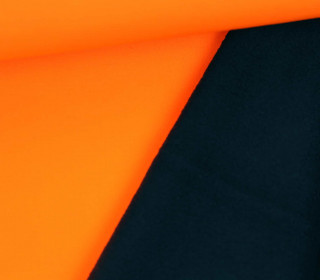 Softshell - Uni - Fleece - Neon - Orange