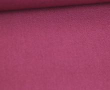 Canvas Stoff - feste Baumwolle - Uni - Altrosa Dunkel