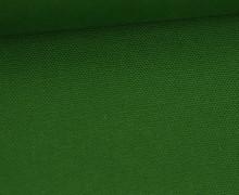 Canvas Stoff - feste Baumwolle - Uni - Grasgrün