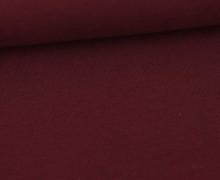 Jersey - Uni - Hochwertig - 150cm - Dunkelrot