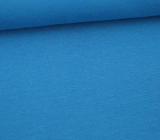 Jersey - Uni - Hochwertig - 150cm - Cyanblau