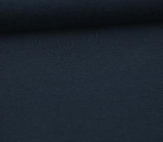 Jersey - Uni - Hochwertig - Nachtblau