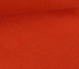 Bündchen - Rippen - Schlauchware - Orange Dunkel