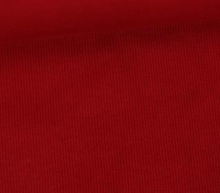 Bündchen - Rippen - Schlauchware - Rot