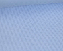 Bündchen - Rippen - Schlauchware - Pastellblau