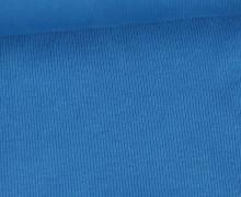 Bündchen - Rippen - Schlauchware - Cyanblau