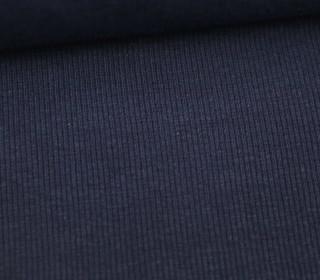 Bündchen - Rippen - Schlauchware - Nachtblau