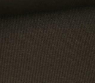 Bündchen - Rippen - Schlauchware - Dunkelbraun