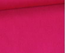 Baumwolle - Webware - Uni - 150cm - Fuchsia