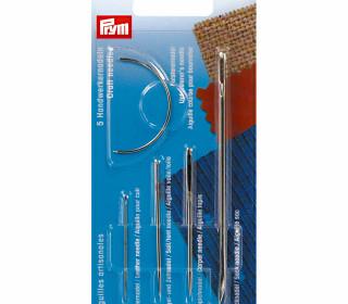 5 Handwerkernadeln - Nadel-Set - Prym - Silber