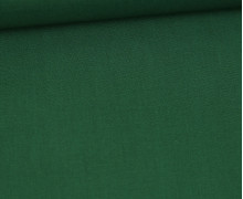 Baumwollstoff - Cretonne - Uni - Dunkelgrün