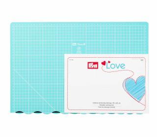Faltbare Schneideunterlage - 45x60cm - Prym Love - Mint