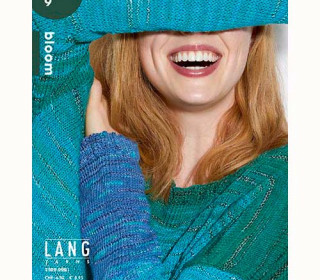 LANGYARNS - punto 9 - Bloom - Strickheft mit Strickanleitungen