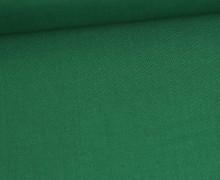 Stoff - Cretonne - Baumwolle - Uni - 145cm - Tannengrün
