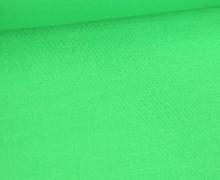 Stoff - Cretonne - Baumwolle - Webware - Uni - 145cm - Gelbgrün