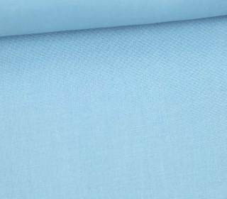 Stoff - Cretonne - Baumwolle - Uni - 145cm - Hellblau
