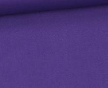 Stoff - Cretonne - Baumwolle - Webware - Uni - 145cm - Lila