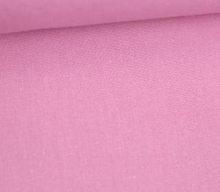 Stoff - Cretonne - Baumwolle - Uni - 145cm - Rosa
