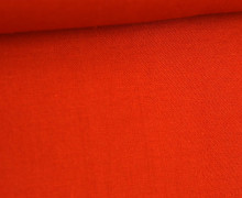 Stoff - Cretonne - Baumwolle - Webware - Uni - 145cm - Orange Dunkel