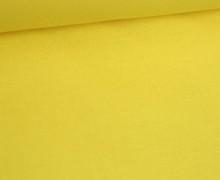 Stoff - Cretonne - Baumwolle - Webware - Uni - 145cm - Zitronengelb