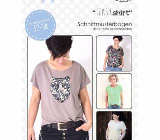 Schnittmuster - TEASY Shirt - 32-58 - lenipepunkt