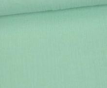 Crinkle - Knitterstoff - Baumwolle - Uni - Pastellgrün