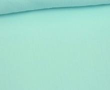 Crinkle - Knitterstoff - Baumwolle - Uni - Mint