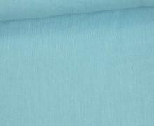 Crinkle - Knitterstoff - Baumwolle - Uni - Pastellblau