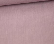 Crinkle - Knitterstoff - Baumwolle - Uni - Altrosa