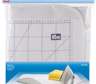 1 Bügeldecke - 60x90cm - Baumwolle - Prym - Weiß